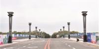 已经准备好的南湖大桥主桥。张扬 摄 - 新浪吉林