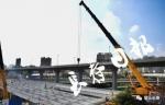 东大桥主体钢结构吊装完工 - 新浪吉林