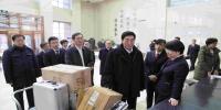 省委书记巴音朝鲁在省市场监管厅调研 - 工商行政管理局