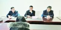 """长春市公用局""""局长接待日""""现场。 石天蛟 摄 - 新浪吉林"""