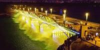 南湖大桥音乐喷泉 - 新浪吉林