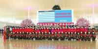 3月22日,在圆满完成支援武汉任务后,吉林首批返程医疗队员在武汉天河国际机场集结,将离汉返回吉林。 - 新浪吉林