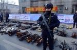 吉林省公安厅组织开展集中统一销毁非法枪爆物品活动 - 新浪吉林