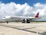 执飞长春-法兰克福货运航线的俄罗斯北风航空公司波音777客改货飞机 - 新浪吉林